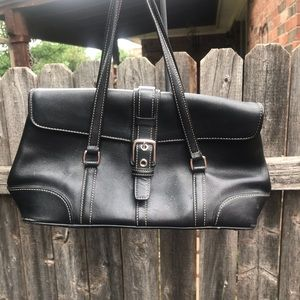 Perfectly sized Coach bag!